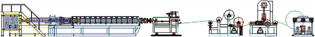 Expanded PS Foam Sheet Extruder