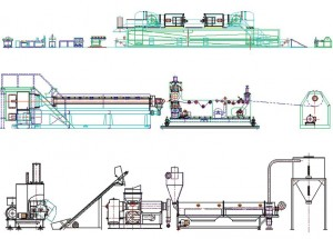 XLPE Foam Sheet Extrusion Line - PACIFIC INDUSTRY