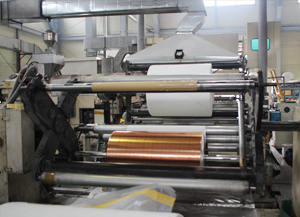 T-die extrusion factory3