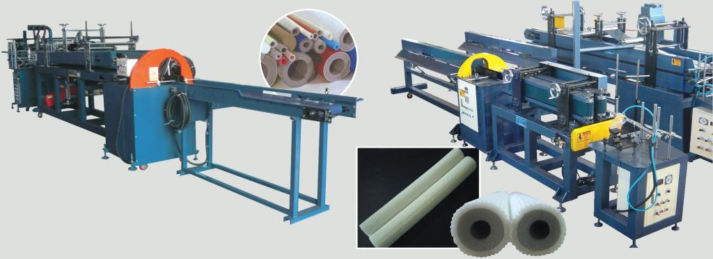 PE-Foam-Pipe-Bonding-Machine