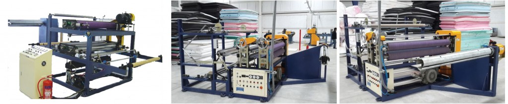 PE Foam Sheet Doubling Bonding Machine
