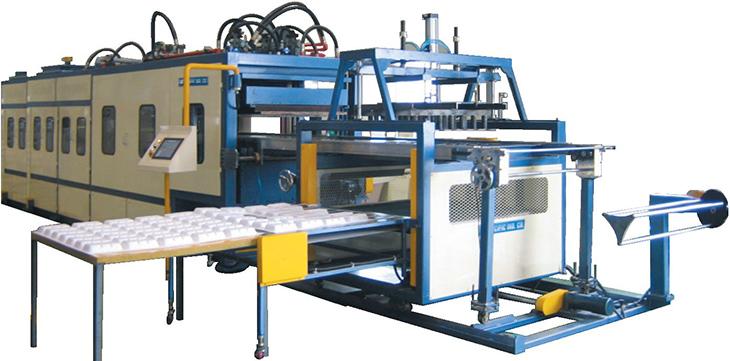 Automatic-Vacuum-Form-Trim-Stack-Machine