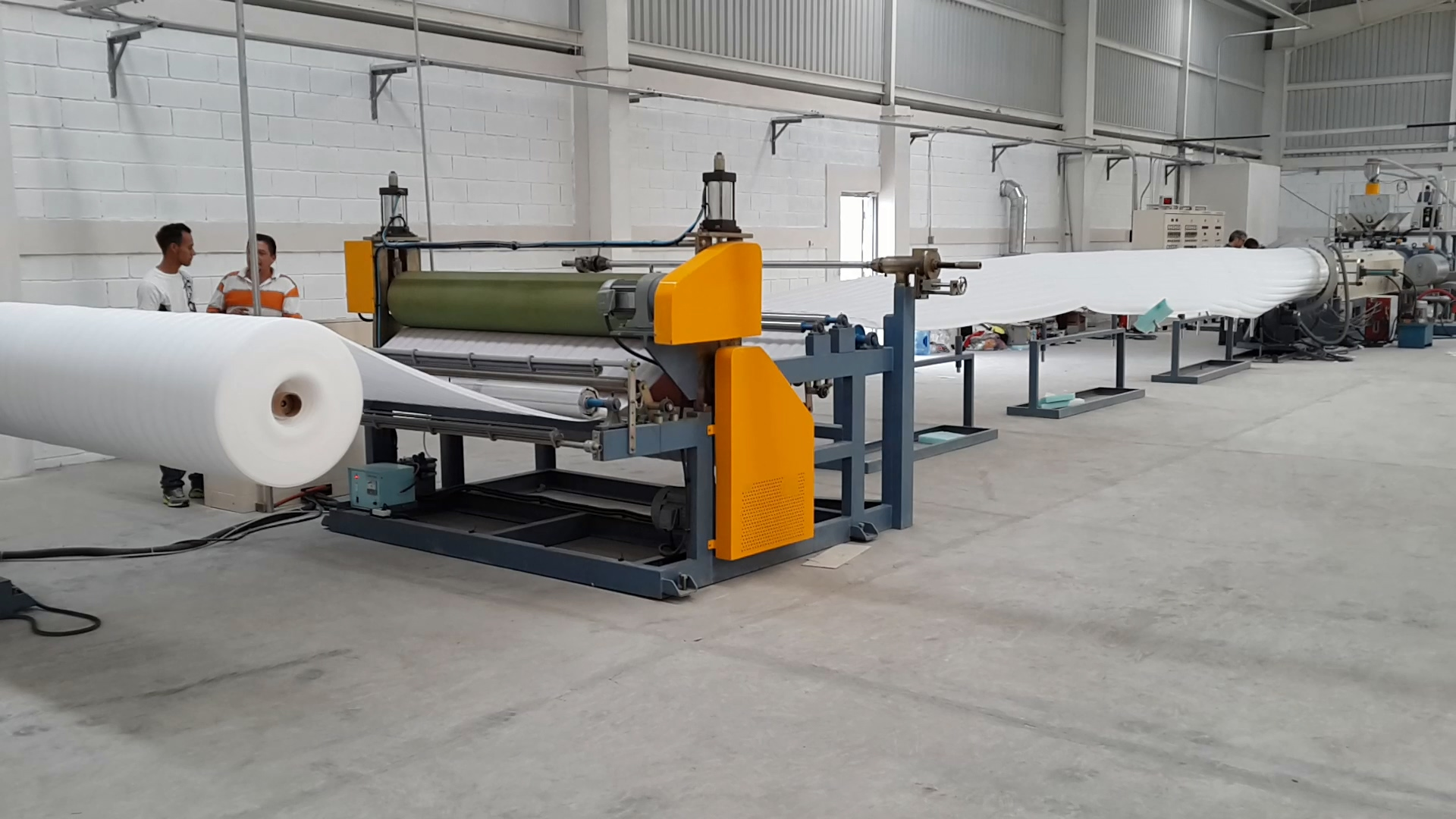 Non-Crosslinked PE Foam Sheet Tandem Extrusion Line(EPE line)