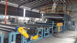 XLPE foam sheet production line in asia