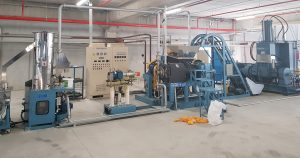 XPE master batch compounding machine