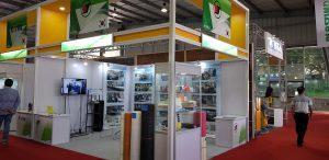 PE foam extruder manufacturer at Plast India 2018 in Ahmedabad, India