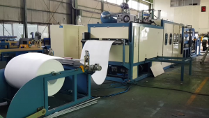 PS foam thermoforming machine